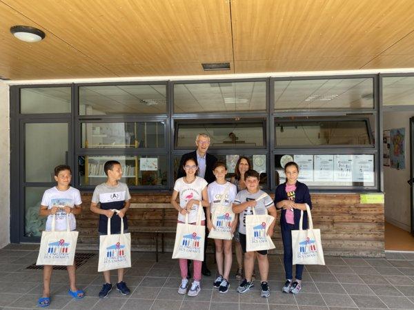 Visite du député M. Castellani