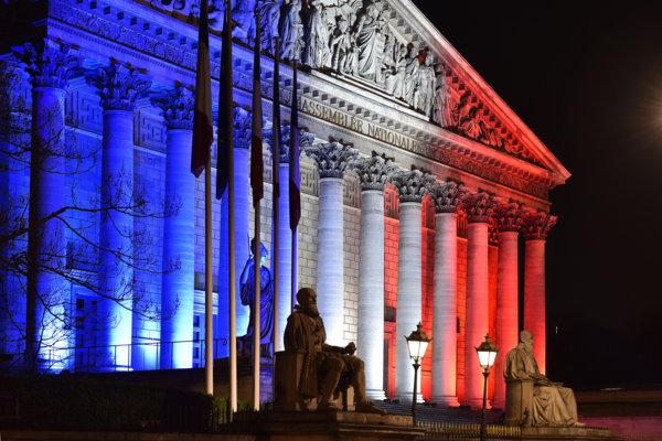 photo colonnade tricolore
